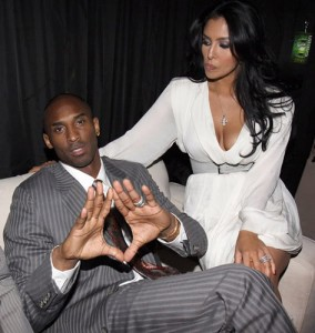 """PHOENIX - FEBRUARY 14:  (L-R) Kobe Bryant and Vanessa Bryant attend Sprite's 3rd Annual Jay-Z And Lebron James """"Two Kings"""" Dinner & After Party  (Photo by Johnny Nunez/WireImage)"""